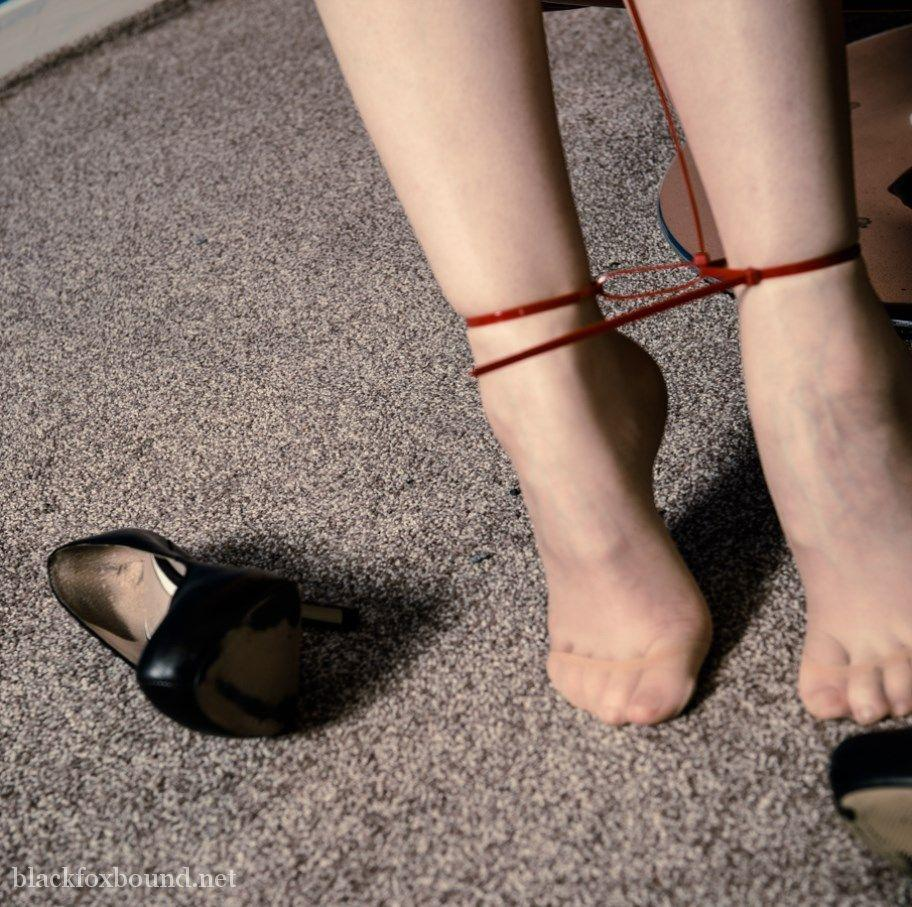 Tied up feet #4