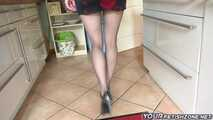 Longs Legs and Pantyhose Feet 10