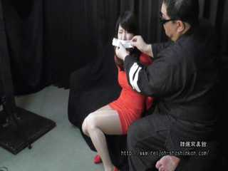 Rina Suwa - Bound and Gagged in Red Dress - Chapter 1