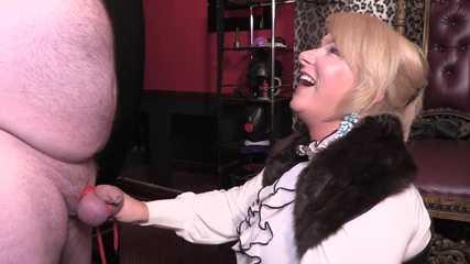 Mistress Erika Cock Bound Human Ashtray (Full) HD mp4