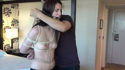 Boxtied part 2 Mia Beth tied standing