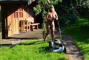 Nude in my garden 6