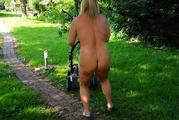 Nude in my garden 7