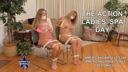 The Action Ladies' Spa Day - Amber Michaels - Carissa Montgomery