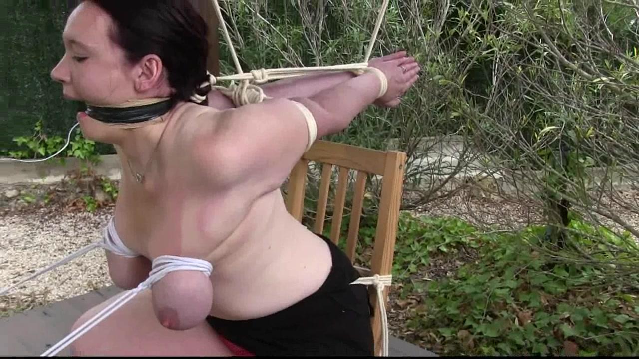 Realize, what extreme breast bondage slave you