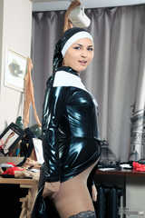 Young nun whoring in pantyhose (238 images)