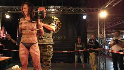Live Escape Challenge from BoundCon XV - The Sgt. Major vs. Katarina Blade