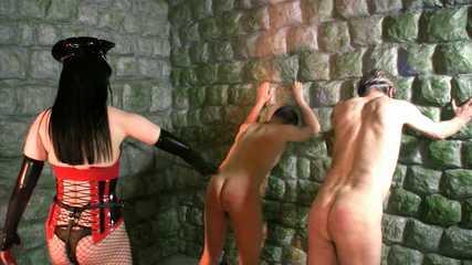 Mistress Rebekka's Butt Slut Brigade - Pegging Punishment 1 (HD wmv)