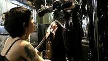 Lady Minou & Kandy - Ultimate Rubber Sex  (Part1) 1