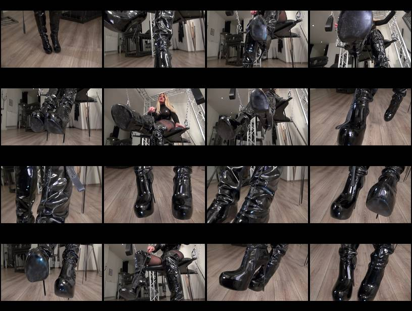 I'll teach you how to be my boot slave! POV